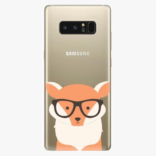Plastový kryt iSaprio - Orange Fox - Samsung Galaxy Note 8