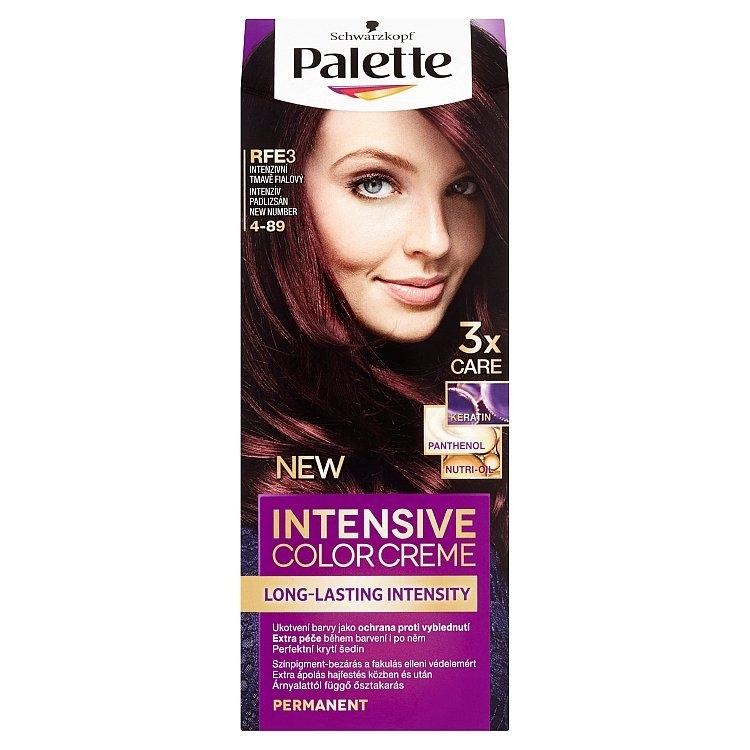 Schwarzkopf Intensive Color Creme barva na vlasy Intenzivní Tmavě Fialový RFE3 (4-89)