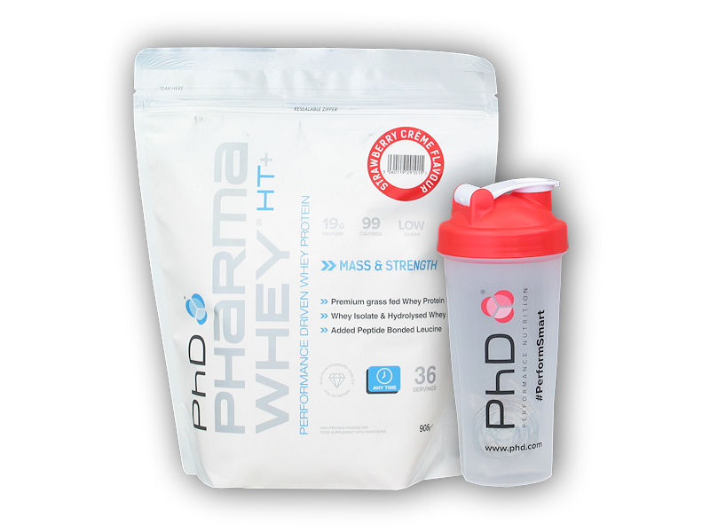 Pharma Whey HT+ 908g + šejkr PHD