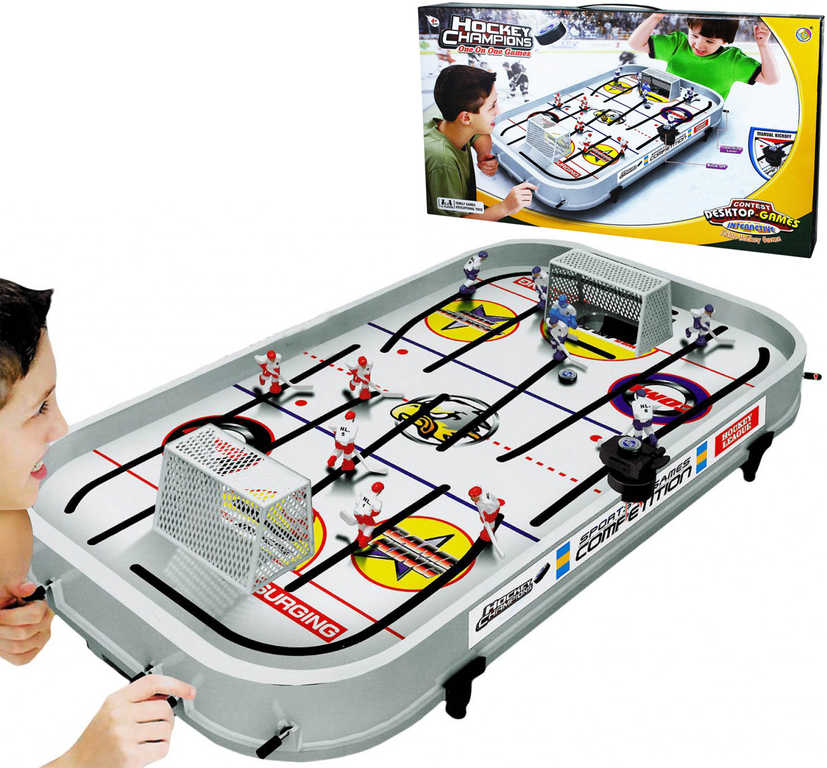 Hra Hokej stolní velký s táhly *SPOLEČENSKÉ HRY*