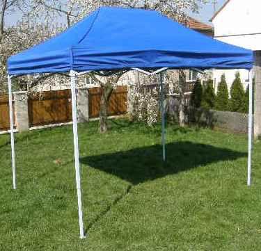 Zahradní párty stan CLASSIC nůžkový - 3 x 2 m modrý