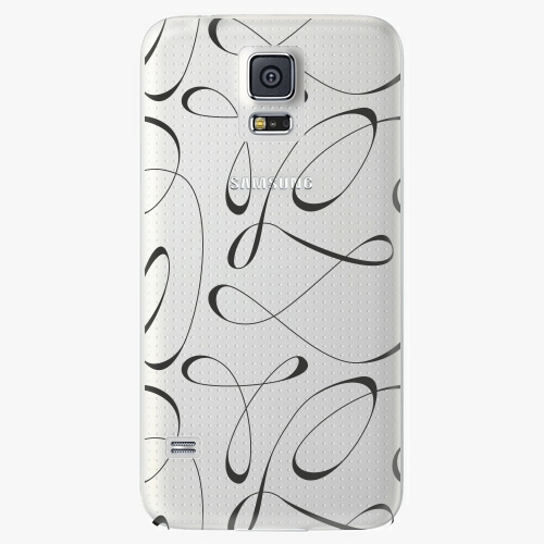Plastový kryt iSaprio - Fancy - black - Samsung Galaxy S5