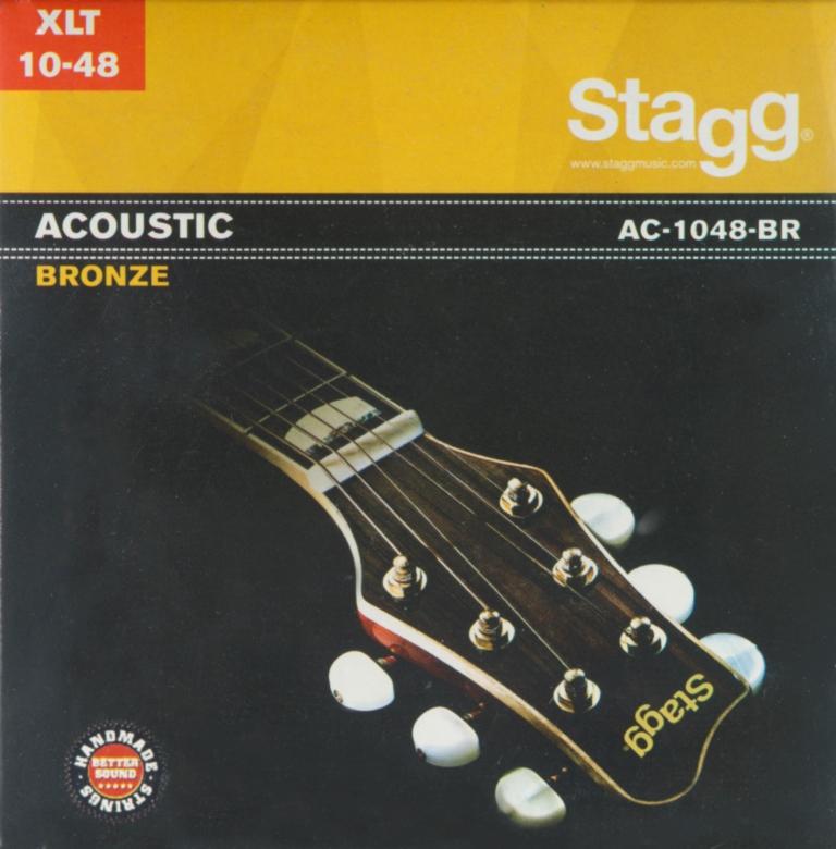 Stagg AC-1048-BR, sada strun