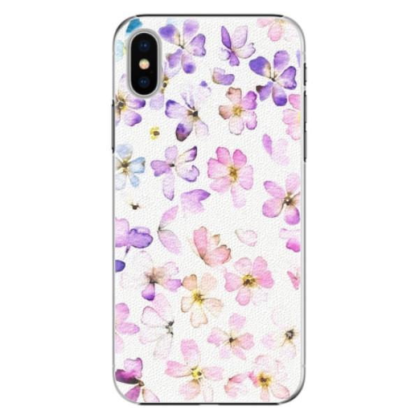 Plastové pouzdro iSaprio - Wildflowers - iPhone X