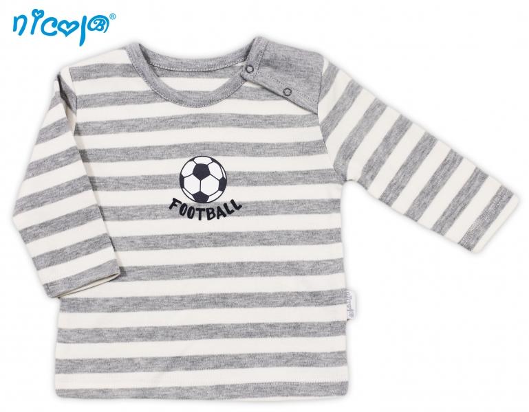 Bavlněné tričko Football - dlouhý