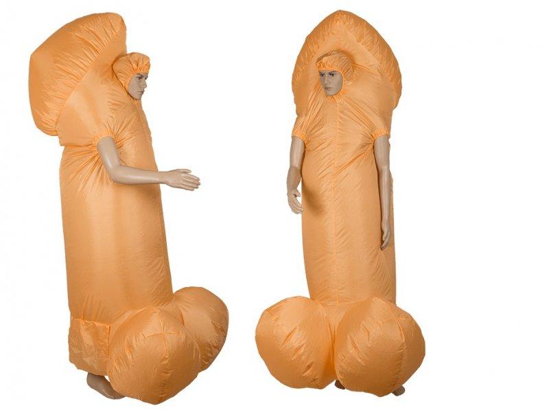 Nafukovací kostým - Penis