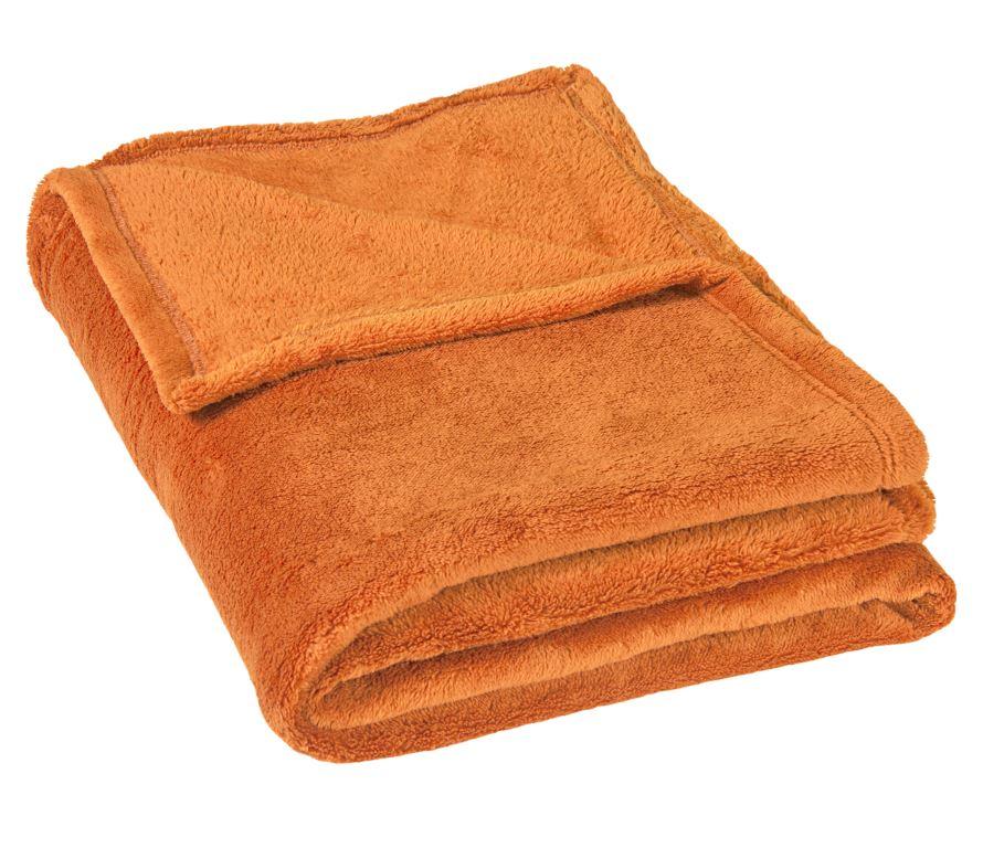 Dětská micro deka 100x150cm 300g/m2 oranžová