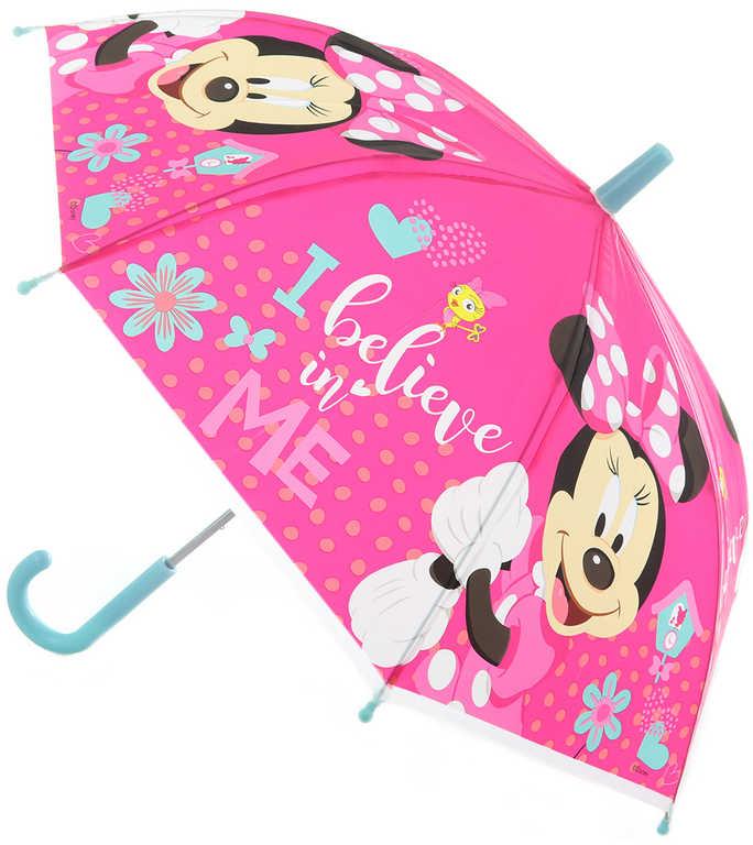 Deštník dětský Disney Minnie Mouse 65x65x6cm manuální otevírání