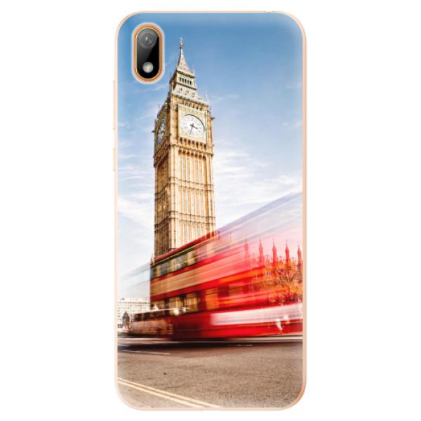 Odolné silikonové pouzdro iSaprio - London 01 - Huawei Y5 2019