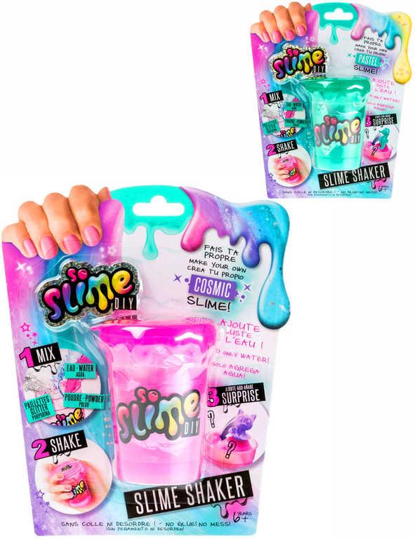EP line Slime výroba slizu pro holky kreativní set shaker s glitry a zvířátkem 6 druhů