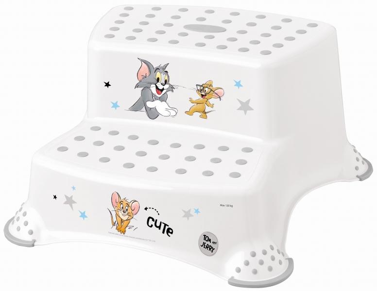 Keeeper Stolička - schůdky s protiskluzovou funkcí - Tom a Jerry
