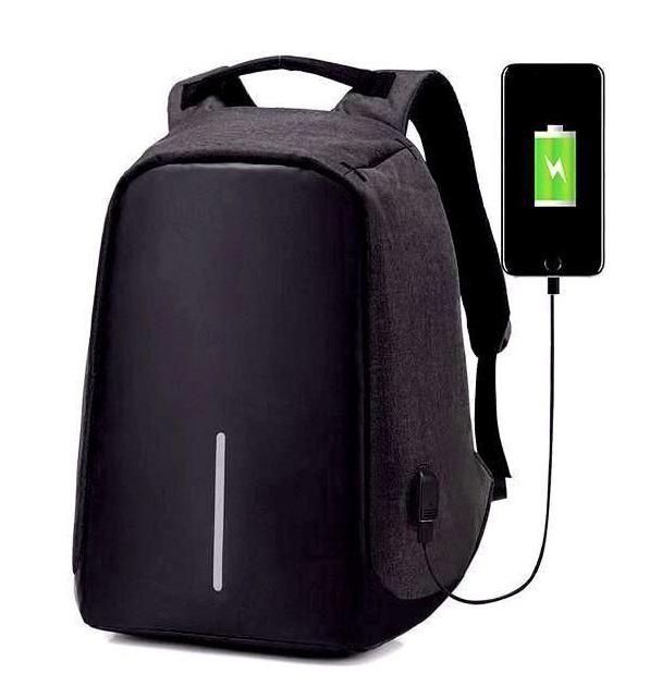 Multifunkční pánský batoh - Černá