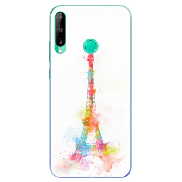 Odolné silikonové pouzdro iSaprio - Eiffel Tower - Huawei P40 Lite E