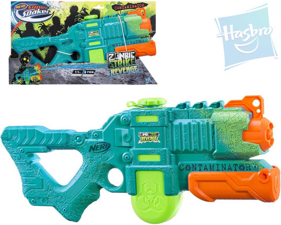 HASBRO Nerf Vodní pistole dětská Zombie Strike Contaminator Super Soaker plast