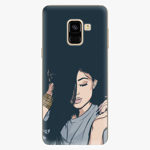 Plastový kryt iSaprio - Swag Girl - Samsung Galaxy A8 2018