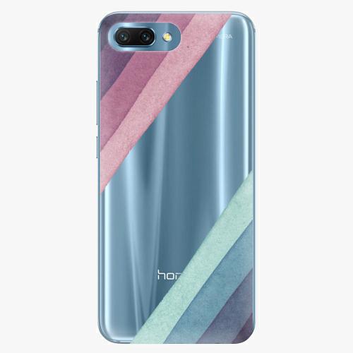 Silikonové pouzdro iSaprio - Glitter Stripes 01 - Huawei Honor 10