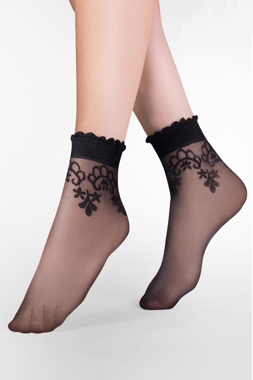 Dámské ponožky Gabriella Bea Code 697 - Béžová/UNI
