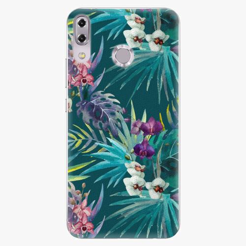 Plastový kryt iSaprio - Tropical Blue 01 - Asus ZenFone 5Z ZS620KL