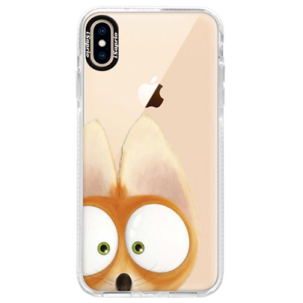 Silikonové pouzdro Bumper iSaprio - Fox 02 - iPhone XS Max