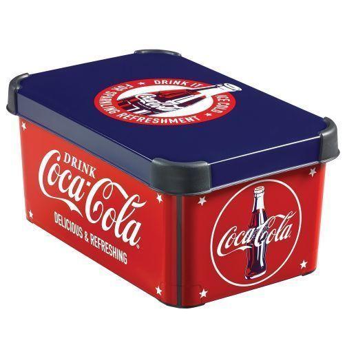Box s víkem - S- COCA COLA CURVER