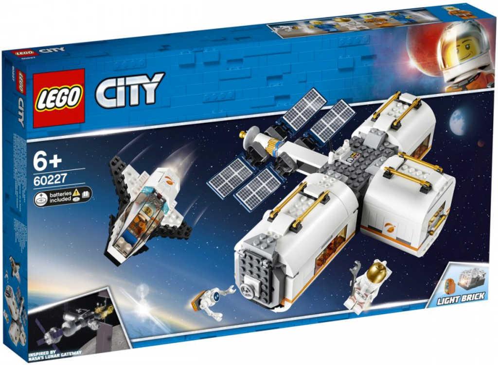 LEGO CITY Vesmírná stanice na baterie 60227 STAVEBNICE