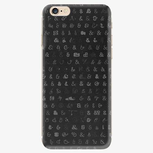 Silikonové pouzdro iSaprio - Ampersand 01 - iPhone 6/6S