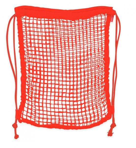 Batůžková eko síťka - červená