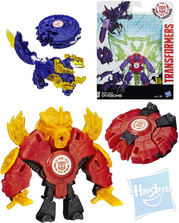 HASBRO Transformers Mini-Con transformace v 1 kroku plast různé druhy