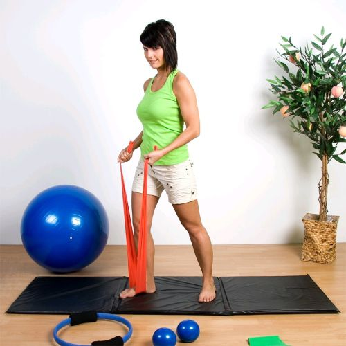 MOVIT sedmidílný Jóga set, gymnastické míče, pilates kruh