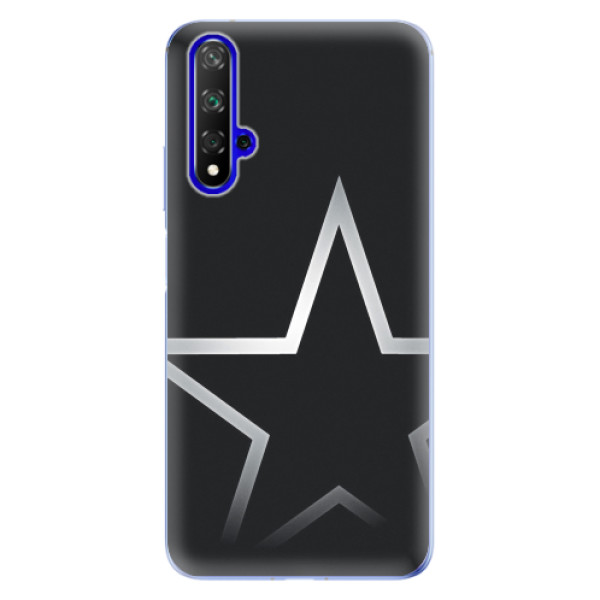 Odolné silikonové pouzdro iSaprio - Star - Huawei Honor 20