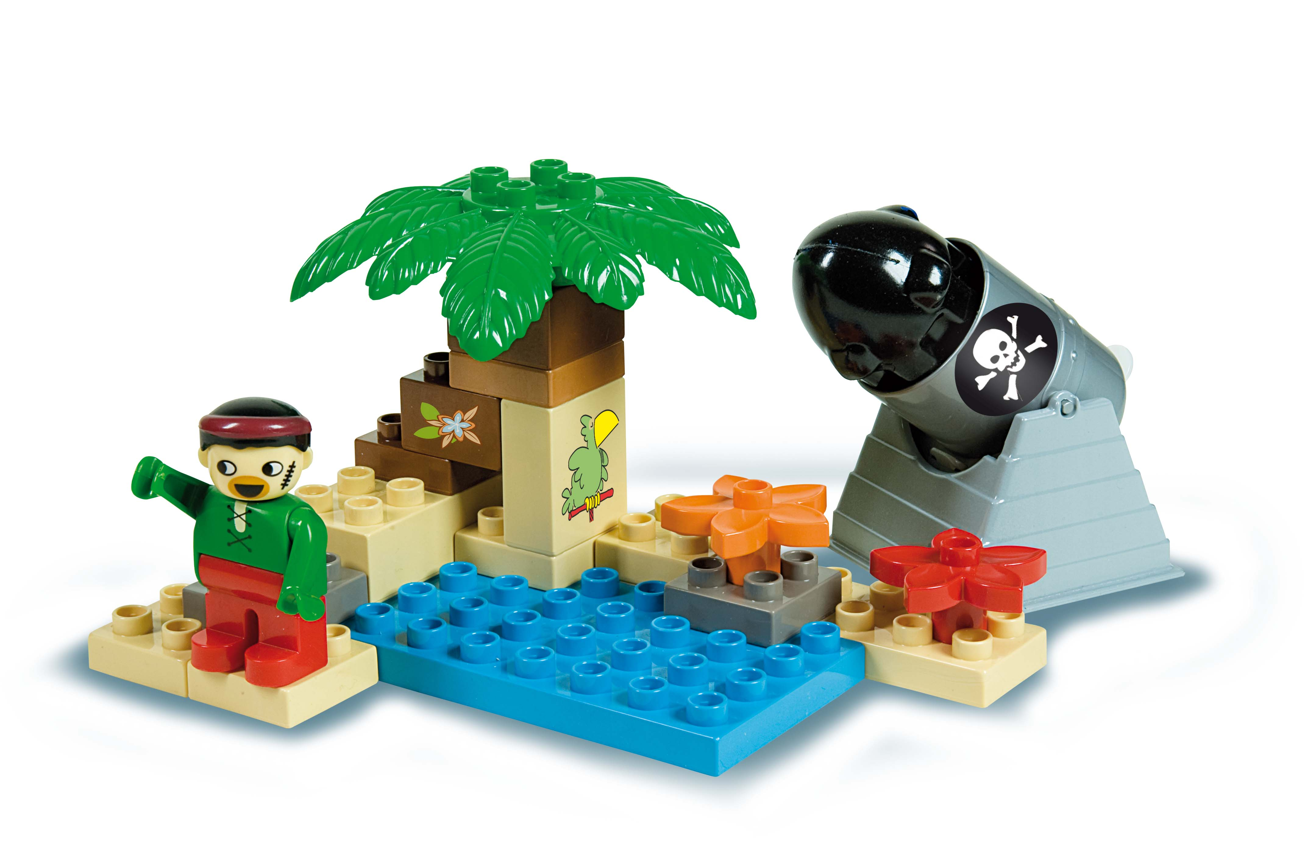 Androni Unico Pirátský ostrov 21 dílků
