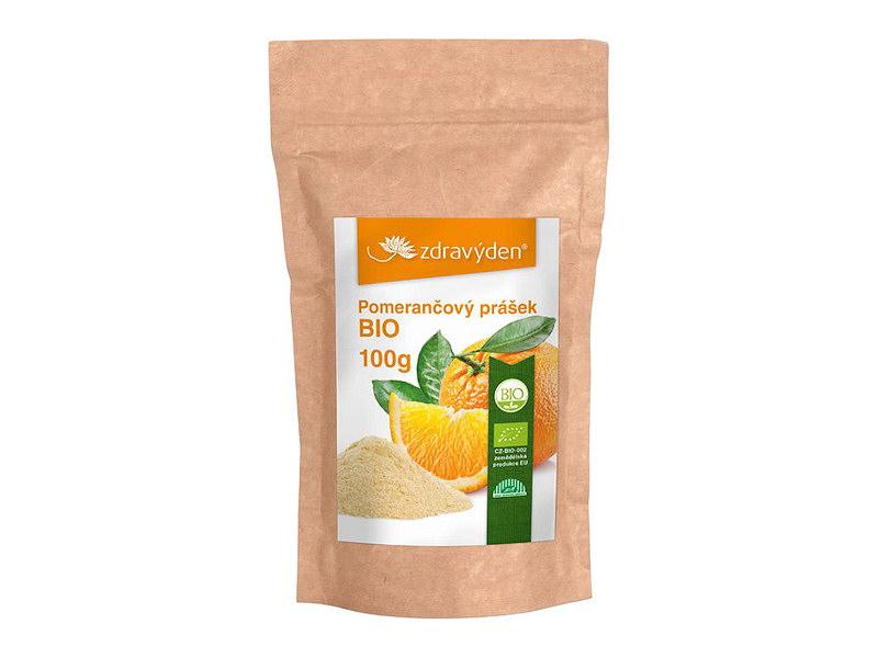 Pomerančový prášek BIO 100g