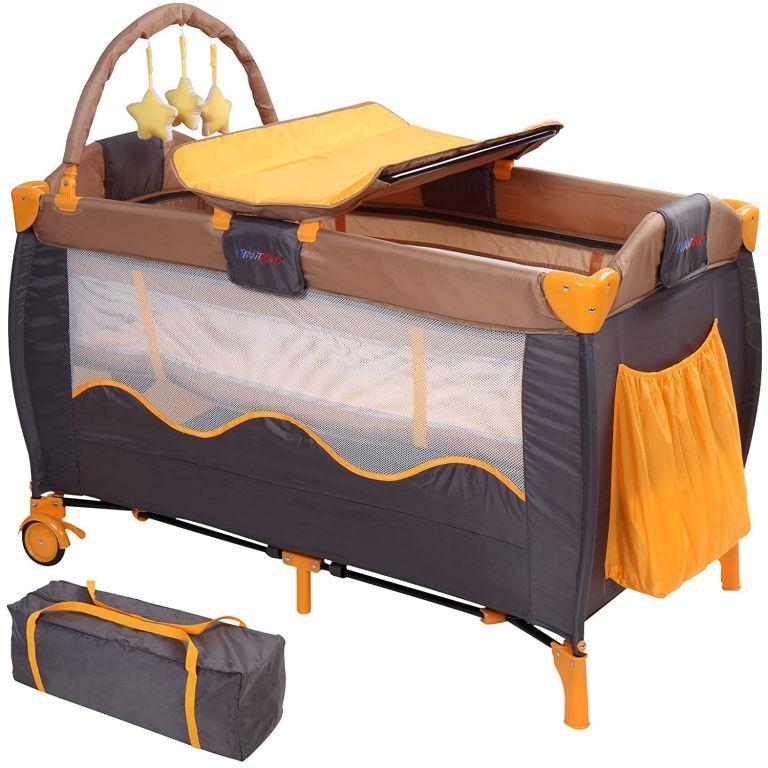 detska-postylka-cestovni-oranzova-seda