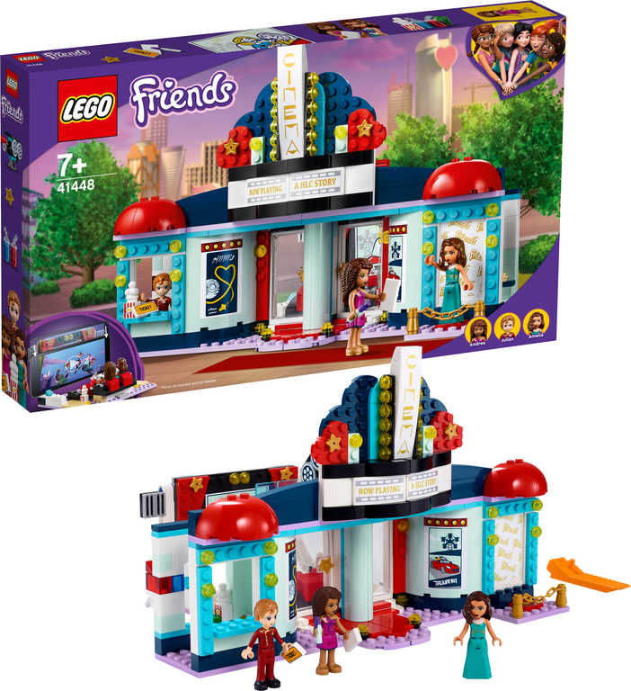 LEGO FRIENDS Kino v městečku Heartlake 41448 STAVEBNICE
