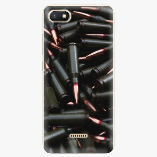 Silikonové pouzdro iSaprio - Black Bullet - Xiaomi Redmi 6A