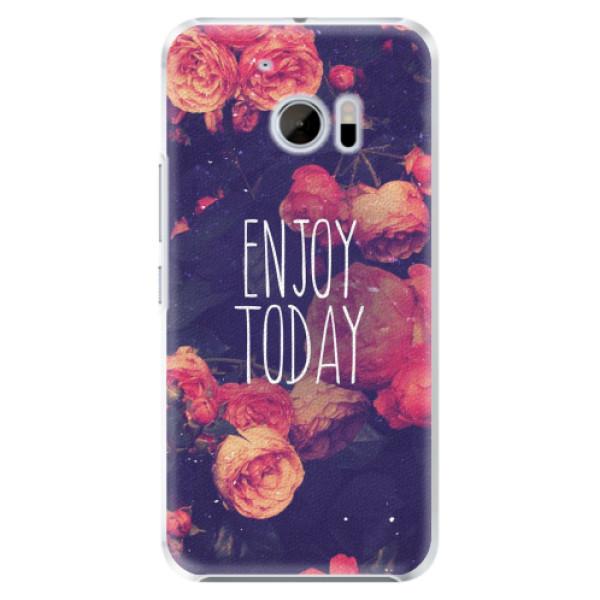 Plastové pouzdro iSaprio - Enjoy Today - HTC 10