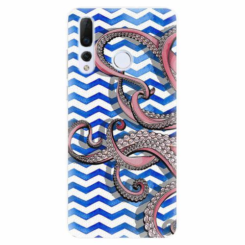 Silikonové pouzdro iSaprio - Octopus - Huawei Nova 4