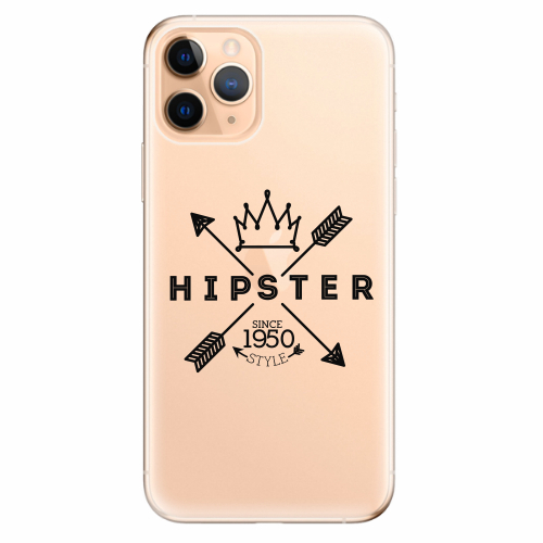 Silikonové pouzdro iSaprio - Hipster Style 02 - iPhone 11 Pro