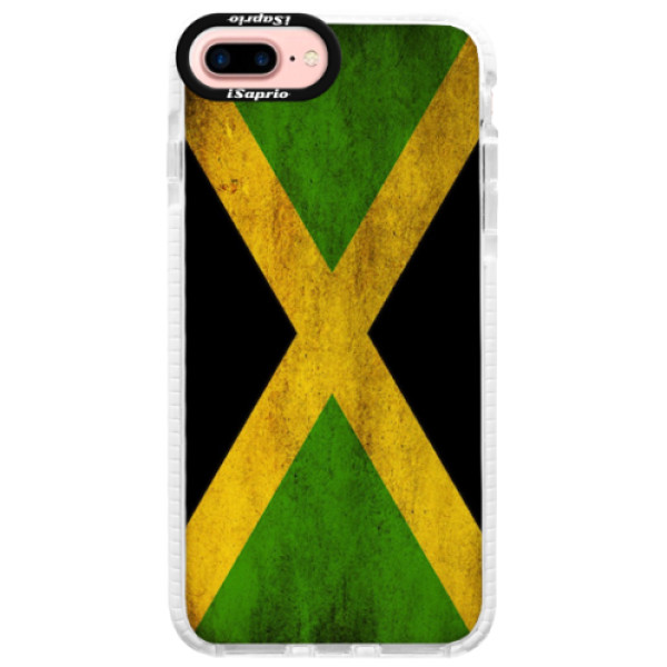 Silikonové pouzdro Bumper iSaprio - Flag of Jamaica - iPhone 7 Plus