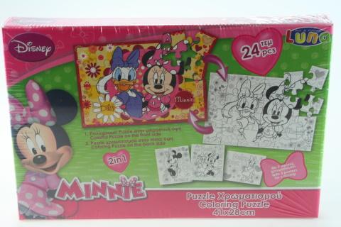 Puzzle Minnie 2 v 1