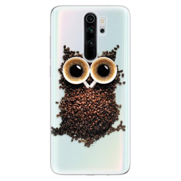 Odolné silikonové pouzdro iSaprio - Owl And Coffee - Xiaomi Redmi Note 8 Pro