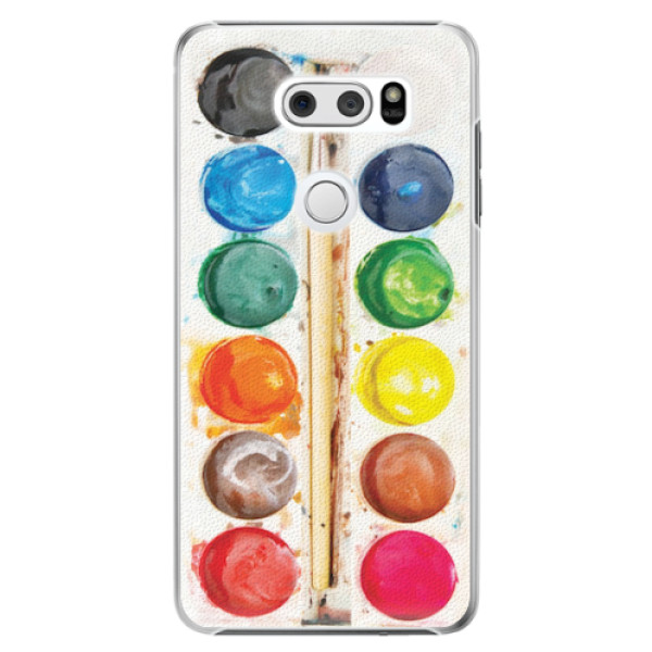 Plastové pouzdro iSaprio - Watercolors - LG V30