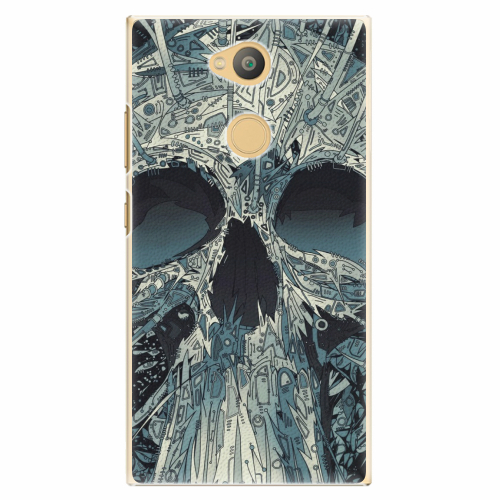 Plastový kryt iSaprio - Abstract Skull - Sony Xperia L2
