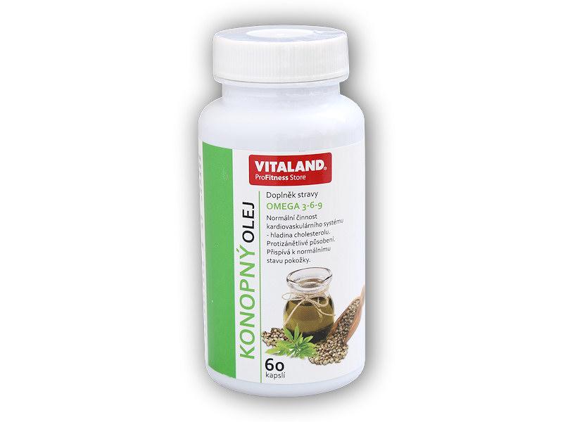 Konopný olej s Omega 3-6-9 60cps