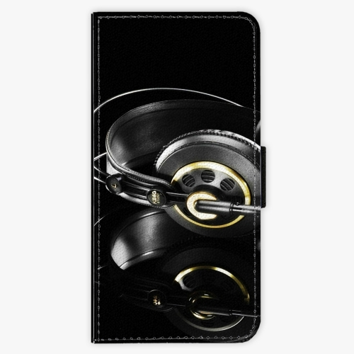 Flipové pouzdro iSaprio - Headphones 02 - Samsung Galaxy A3 2017