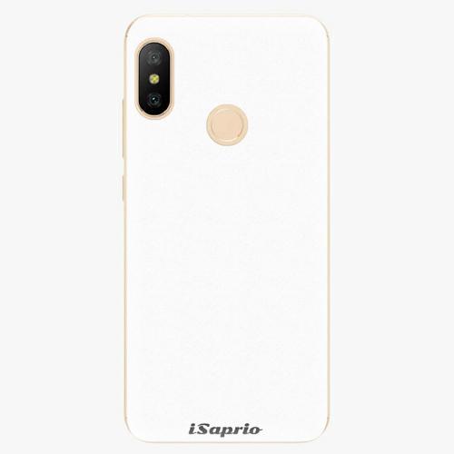 Silikonové pouzdro iSaprio - 4Pure - bílý - Xiaomi Mi A2 Lite
