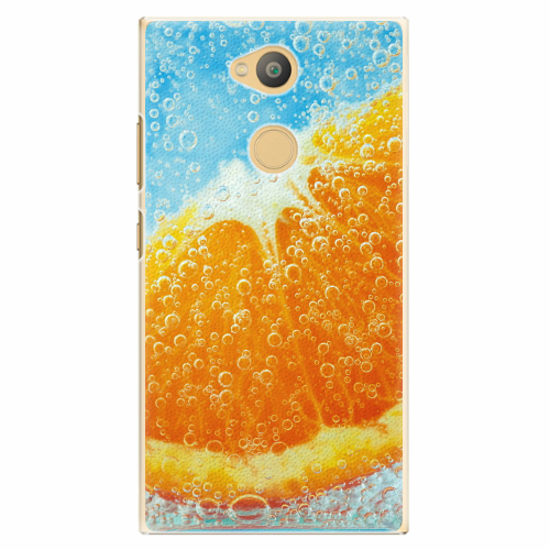 Plastový kryt iSaprio - Orange Water - Sony Xperia L2