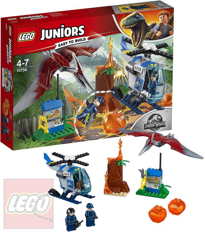 LEGO JUNIORS JURSKÝ SVĚT Útěk Pteranodona 10756