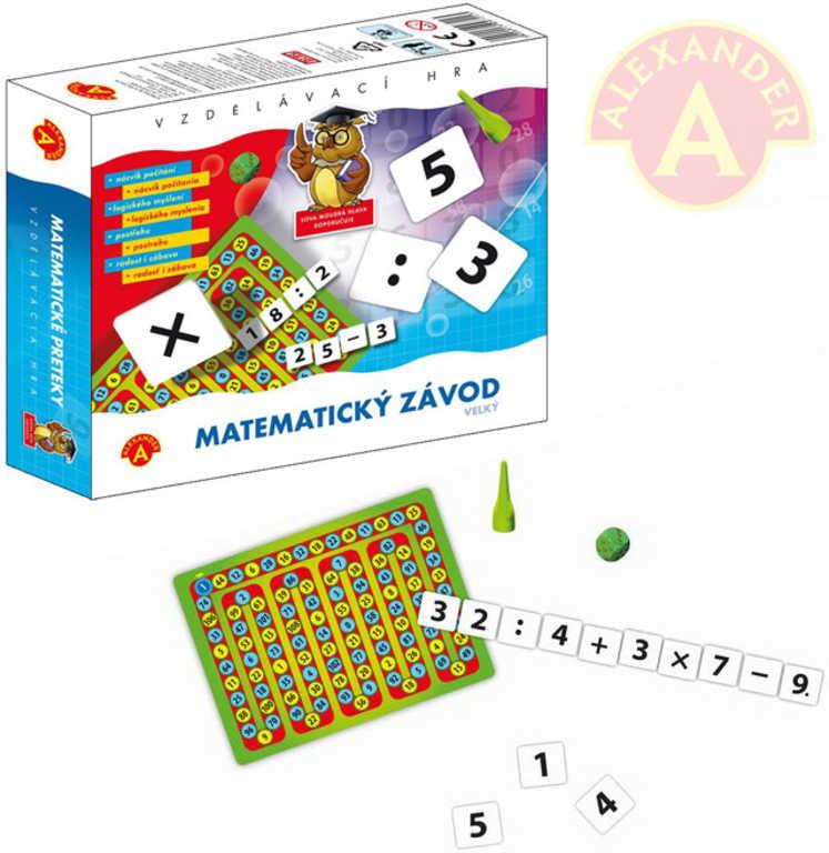 ALEXANDER Hra vzdělávací matematický závod
