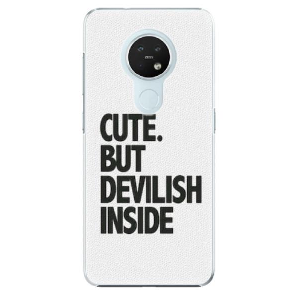 Plastové pouzdro iSaprio - Devilish inside - Nokia 7.2